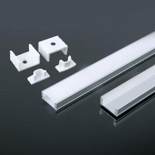 Profilo in Alluminiol Per Strisce LED - 2 metri