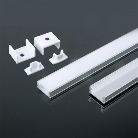 Profilo in alluminio 2m 17.4 x 7 mm White Housing 5d8c8c1d6f2f6