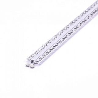 Profilo In Alluminio a Scomparsa/Incasso Per Strisce LED - 2 Metri sku 3360