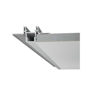 Profilo Angolare In Alluminio a Scomparsa/Incasso Per Strisce LED - 2 Metri sku 3362 - Esempio applicativo