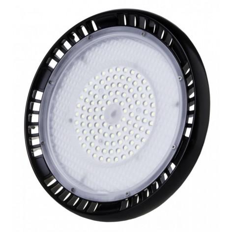 Lampada Industriale LED 100W Ufo Shape Dimmerabile 90° High Bay con Chip LED Samsung