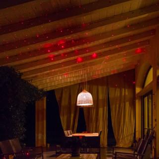 Proiettore Garden Laser Rosso Con Telecomando
