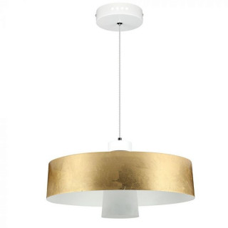 Lampadario LED 7W Campana Color Oro