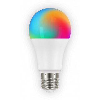 Lampadina LED E27 Smart Wi-Fi 15W Bulbo A65 RGB - App - Alexa - Google Home