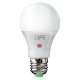 Life Serie GF Lampadina LED E27 9W Bulbo A60 con Sensore Crepuscolare