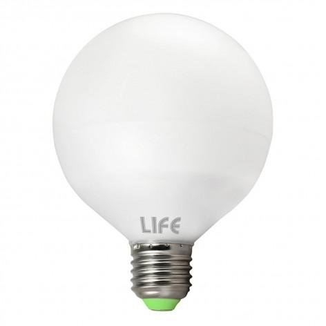 Life Serie GF Lampadina LED E27 24W Globo G120 270°