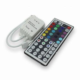V-Tac Sku: 3317 Controller per Strisce LED RGB 5050 con Telecomando 44 Tasti