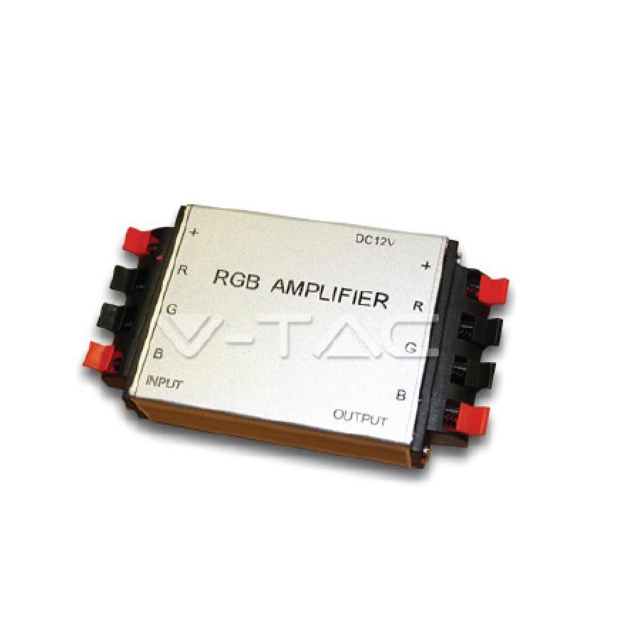 V-Tac Sku: 3009 Amplificatore di Segnale per Controller di Strisce LED RGB