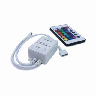 V-Tac VT-2401 SKU: 3304 Controller per strisce LED RGB 5050 con Telecomando 24 tasti