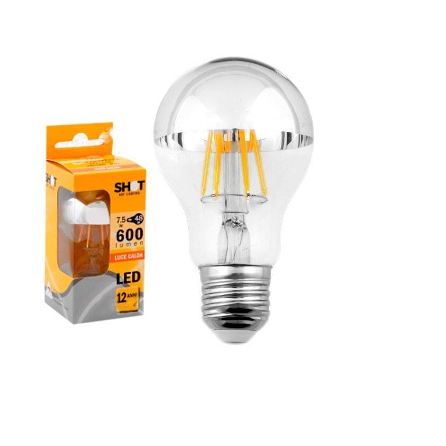 Bot lighting shot lampadina led e27 7 5w bulbo a60 for Offerte lampadine a led e 27
