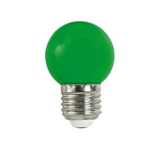 Life Lampadina LED E27 2W Miniglobo G45 verde