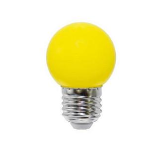 Life Lampadina LED E27 2W Miniglobo G45 gialla