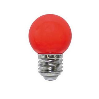 Life Lampadina LED E27 2W Miniglobo G45 rossa