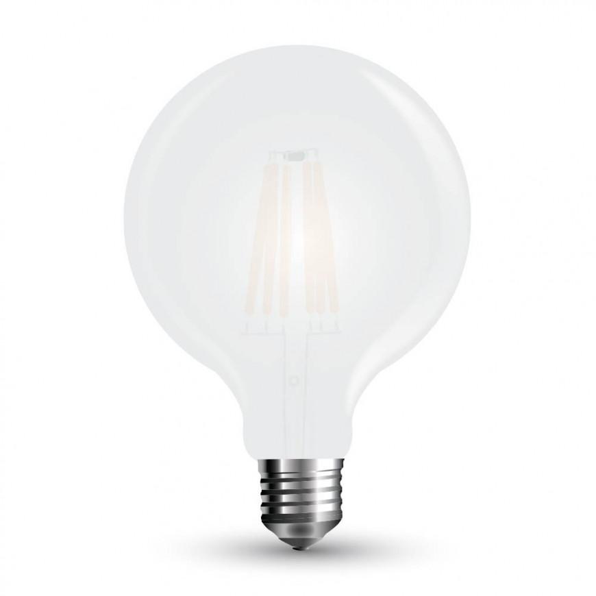 Lampadina LED E27 7W Globo G95 Frost Filamento 300°