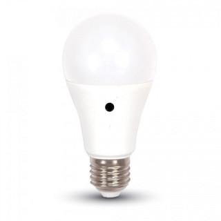 V-Tac VT-2016 Lampadina LED E27 9W Bulbo A60 con Sensore crepuscolare
