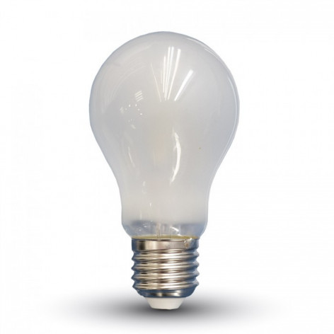 Lampadina LED E27 9W Bulbo A67 Filamento Effetto Ghiaccio