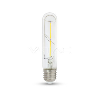 Lampadina LED E27 2W Tubolare Filamento