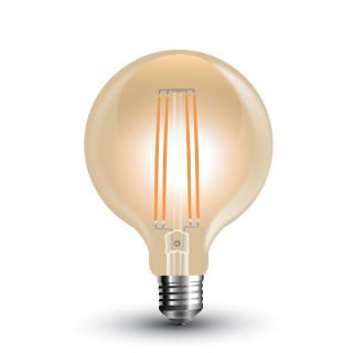 Lampadina LED E27 7W Globo G95 Filamento Ambrata Vintage