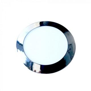 Pannello LED Rotondo 24W SMD Cromato da incasso con Driver
