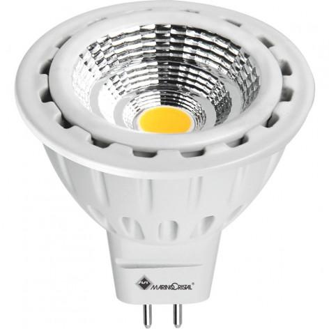 MARINO CRISTAL SERIE PRO Faretto LED GX5.3 MR16 7W COB Spotlight 60° RFL-COB-7