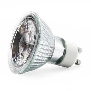 LIFE Faretto LED PAR16 GU10 5W SMD Spotlight COB in vetro
