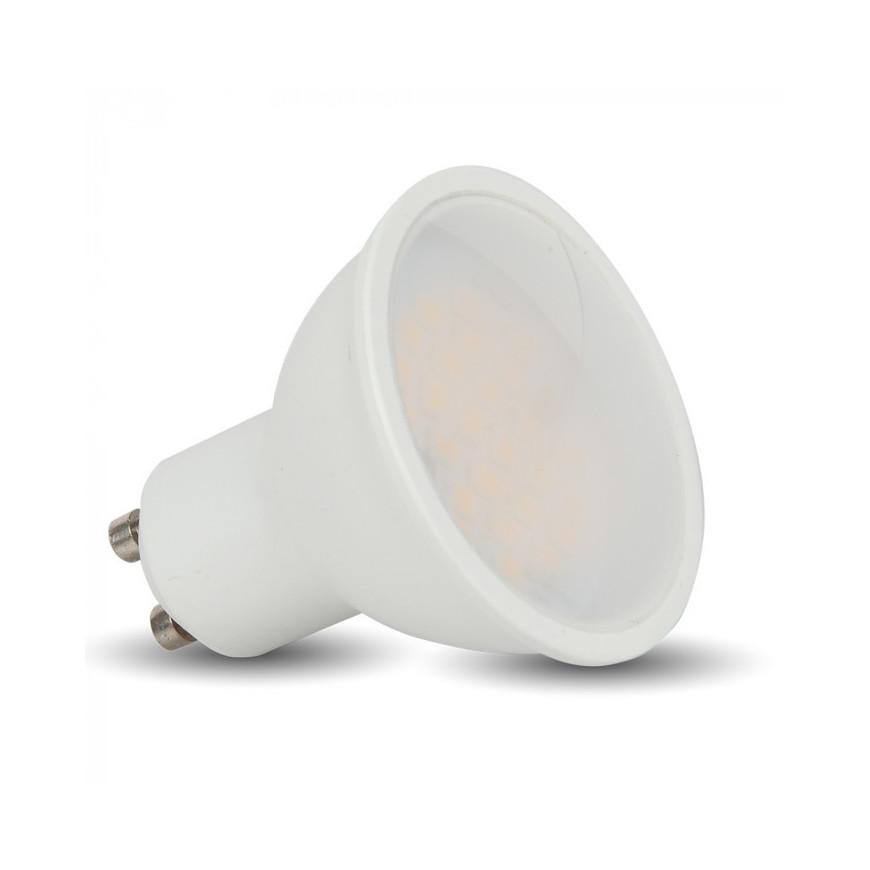 V-Tac Faretto LED GU10 6W SMD Spotlight grigio 110° - SKU 7310 / 7311 / 7312