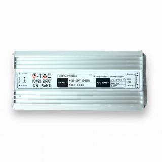 V-Tac Alimentatore 60W Impermeabile IP65 a 2 Uscite con Cavi a Saldare
