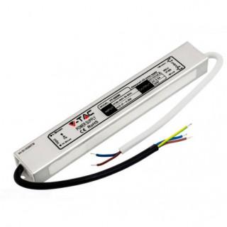 V-Tac Alimentatore 30W Impermeabile IP65 a 1 Uscita con Cavi a Saldare