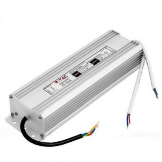 V-Tac Alimentatore 150W Impermeabile IP65 a 2 Uscite con Cavi a Saldare