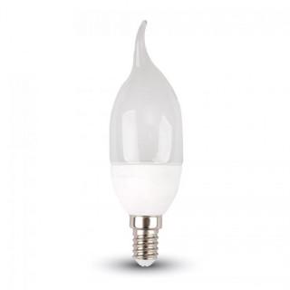 V-Tac VT-1818TP Lampadina LED E14 4W Candela Fiamma
