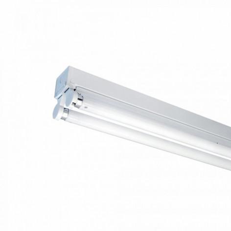 VT-12021 | SKU: 6055 PLAFONIERA DOPPIA PER TUBI LED T8 DA 120CM