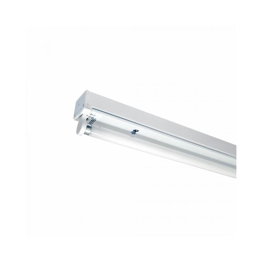 V-Tac VT-16010   SKU: 6052 Plafoniera Singola Per Tubi LED T8 Da 60cm