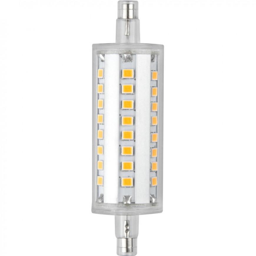 Marino Cristal Lampadina LED R7S L78 6W Bulbo Tubolare Serie Pro