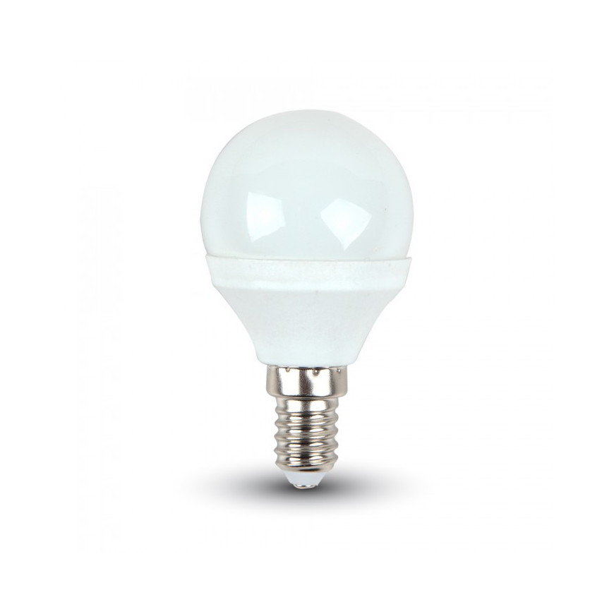 V-Tac VT-1819 Lampadina LED E14 4W Miniglobo P45