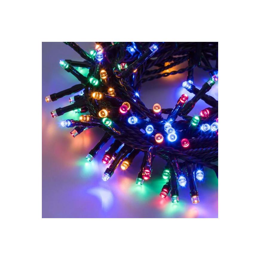 E led light catena 300 luci led reflex multicolore a for Luci a led esterno