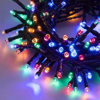 Catena 240 luci LED Reflex Multicolore a Batteria per interno/esterno con controller memory