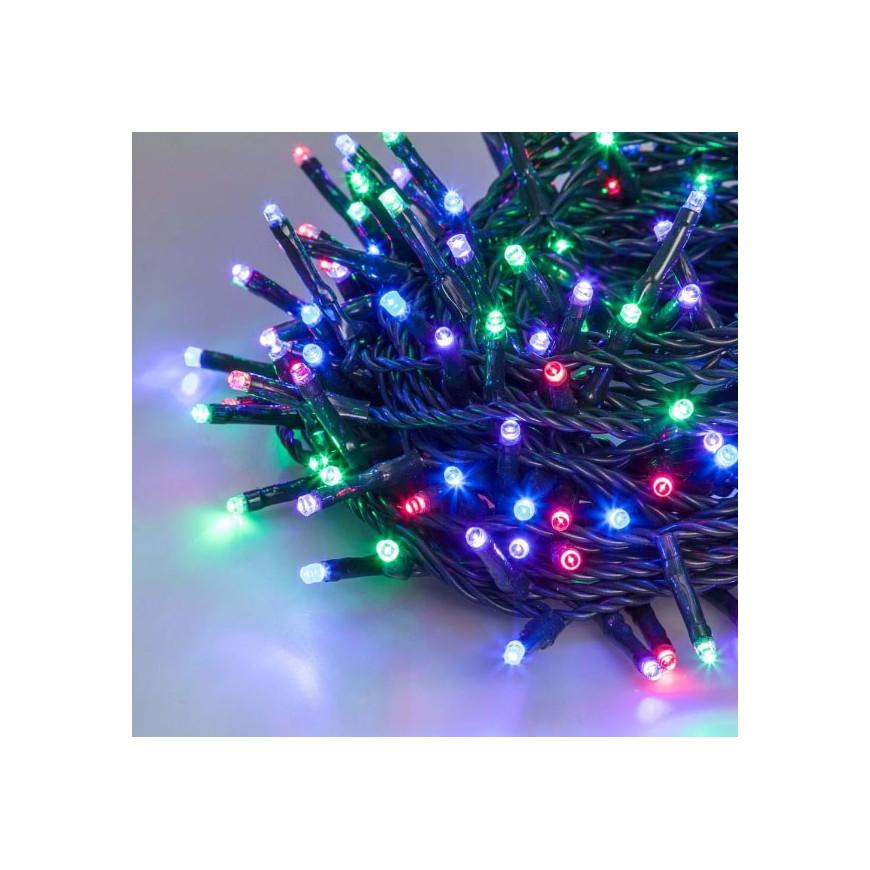 Catena 480 luci LED Reflex Multicolor Plus per interno/esterno con controller memory