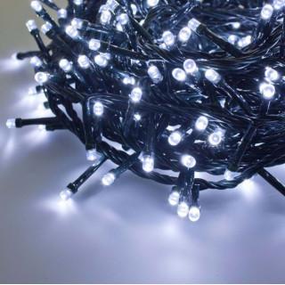 Catena 450 luci LED Reflex Bianco Freddo per interno/esterno con controller memory