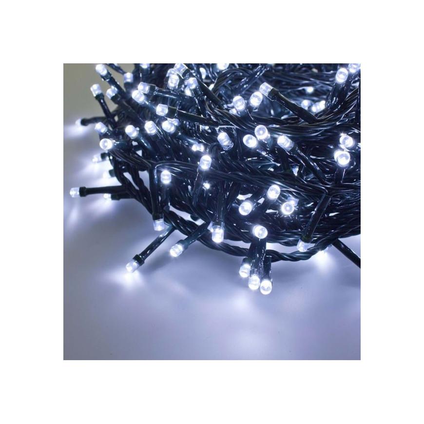 E led light catena 450 luci led reflex bianco freddo per for Luci a led esterno