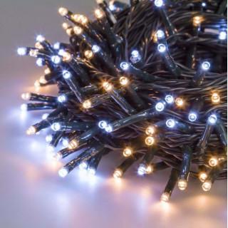 Catena 360 luci LED Reflex Bianco Caldo e Freddo per interno/esterno con controller memory