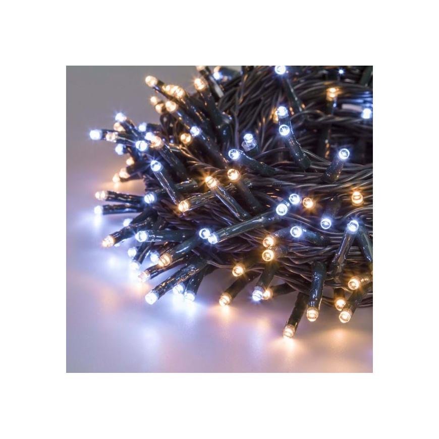 E led light catena 360 luci led reflex bianco caldo e - Catena di luci per esterno ...