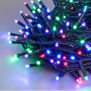 Catena 120 luci LED Reflex Multicolor Plus per interno/esterno con controller memory