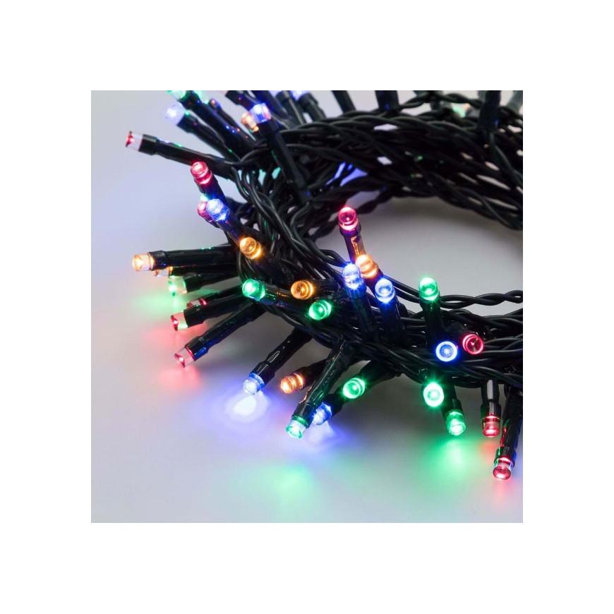 Catena 48 luci LED Reflex Multicolore a Batteria per interno/esterno con controller memory