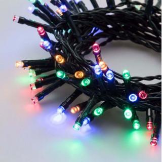 Catena 24 luci LED Reflex Multicolore a Batteria per interno/esterno con controller memory