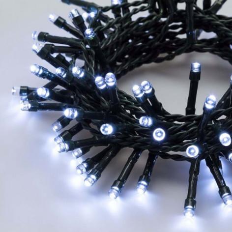 Catena 24 luci LED Reflex Bianco Freddo a Batteria per interno/esterno con controller memory