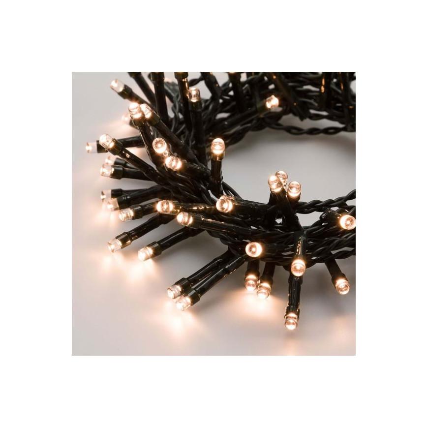 Catena 24 luci LED Reflex Bianco Caldo a Batteria per interno/esterno con controller memory