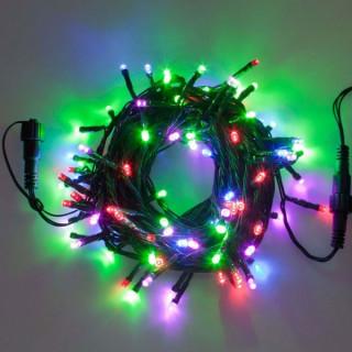 Catena PLB 100 luci LED Reflex Multicolore per interno/esterno - Prolungabile