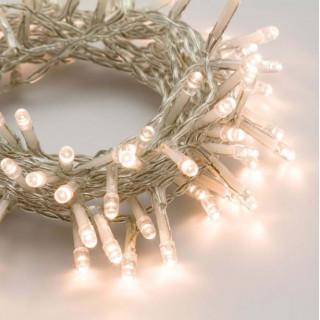 Catena 48 luci LED Reflex Bianco Caldo a Batteria per interno/esterno con controller memory