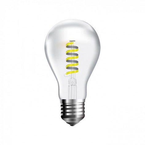 V-Tac VT-2164 Lampadina LED E27 4W Bulbo A60 Cob Filamento