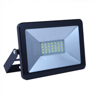 V-Tac VT-4621 Faretto LED SMD 20W Ultra Sottile da esterno Nero I-SERIES
